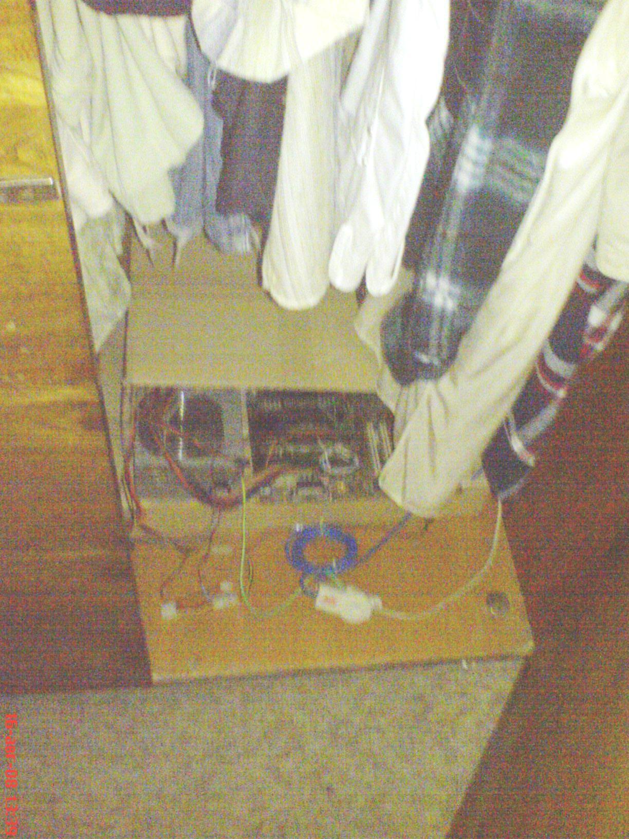 В гардероба